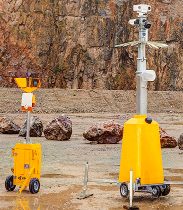 Sistemi di protezione a noleggio - JCB Smart Tower e JCB Alert Tower