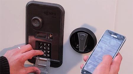 VPS SmartDoor - Controllate la vostra serratura tramite l'app sullo smartphone